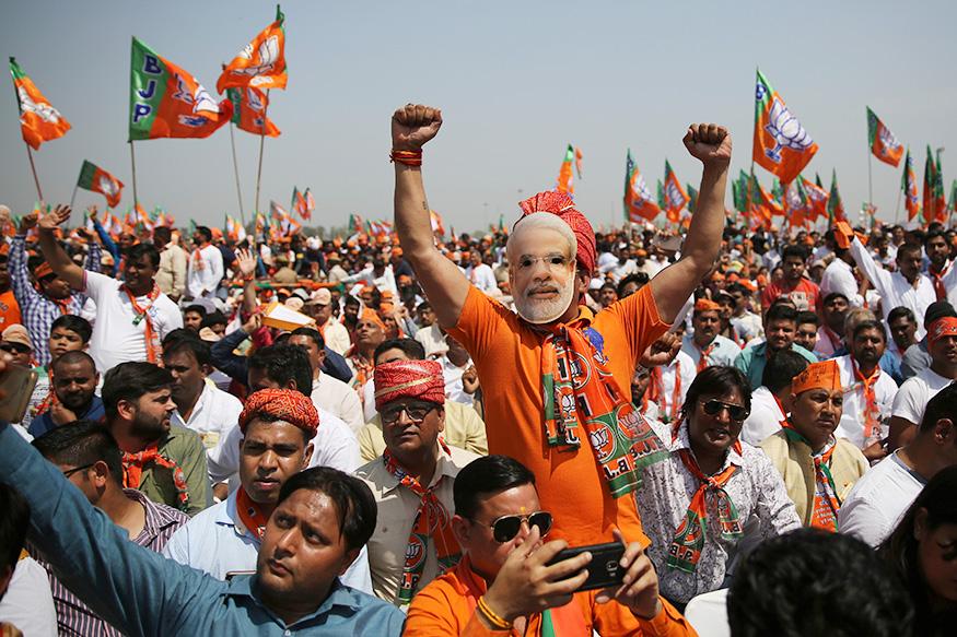 Vending Machine Named 'NaMo Rath a Big Hit at PM Modis Rallies 7