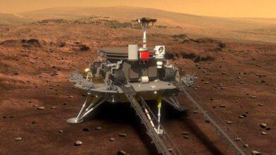 118512183 zhurong china mars lander