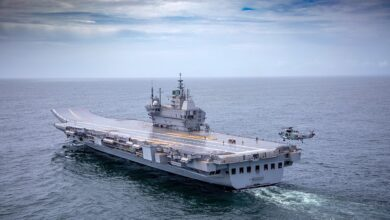 IAC 1 Vikrant going for its maiden sea trials