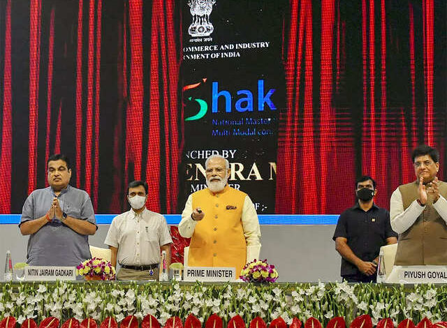 100 lakh crore national master plan